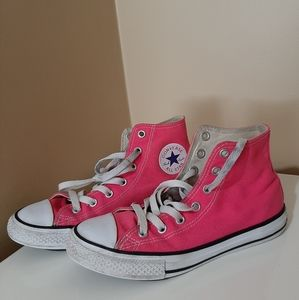 Converse All Star Pink Chucks High Tops
